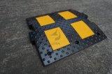 De zwarte en Gele RubberBeperker van de Snelheid met de Lage Prijs van de Fabriek