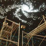 De unieke Sterrige Hemel van het Plafond van de Vezel van het Ontwerp Optische Decoratieve
