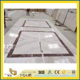 Volakas Mable bianco per la decorazione della pavimentazione