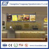 Painel de menus de publicidade LED; Snap frame LED Light Box