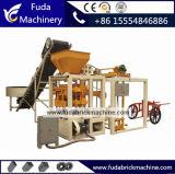 Полуавтоматное Qt4-24b вымощая машинное оборудование кирпича с умеренной ценой