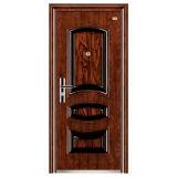 Дверь утюга поставщика Кита конструкции стальной двери двери обеспеченностью одиночной новая (FD-035)