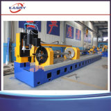 Taglierina d'acciaio quadrata di angolo della tagliatrice/Manica del tubo di CNC Plamsa