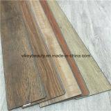 L'Ue di legno della pavimentazione di scatto del PVC delle mattonelle prova