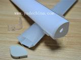 V-Shaped алюминиевый профиль с изогнутым замороженным комплектом крышки крышки и конца
