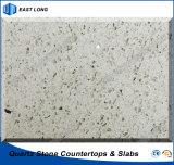 Pierre en gros de quartz pour le matériau de construction de partie supérieure du comptoir avec le prix concurrentiel (couleurs simples)