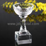 Concesión cristalina del trofeo de los artes calientes del cristal de la fuente de China (JD-JB-001)