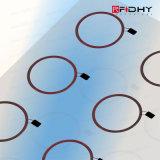 Marqueterie de la puce RFID A4, marqueterie d'IDENTIFICATION RF, feuille de marqueterie d'à haute fréquence