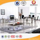 최신 판매 홈 가구 검정 대리석 식당 테이블 (UL-DC666)