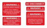Etiquetas de capacidade elevada para a indústria Photovoltaic solar da instalação