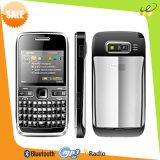 Teléfono móvil dual E72 del recurso seguro TV Bluetooth de la tarjeta dual de SIM