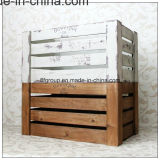 Bello contenitore di regalo di legno di lusso personalizzato per memoria dei monili