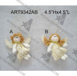 Decoración Craft-2asst. de la Navidad de Giftbag del muñeco de nieve de Santa