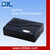 Cross-rede Voive Gateway (RoIP-102)