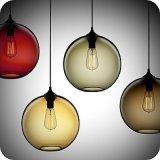 Ter o candelabro de vidro da lâmpada moderna conservada em estoque (GD-1991-5)