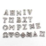 Письма алфавита кристалла 26 ювелирных изделий способа греческие плавая шармы