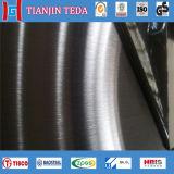 430 No. 4 N4 aplicaron la hoja inoxidable de la placa con brocha de acero del final del satén