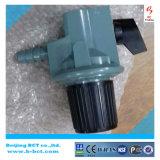 Regolatore ad alta pressione con la presa di alluminio 0-2bar 0-6kg/H BCT-HPR-04 della barra dell'ingresso 0.5-10 del corpo