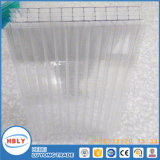 Clear Anti Fog Sunshades UV Protection Hollow PC Sheet