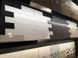 azulejo de cerámica mate de la pared del cuarto de baño de la cocina del color puro de 100X400m m