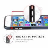 2 en 1 cubierta híbrida del teléfono de la manera para el iPhone 7 del iPhone 7 más