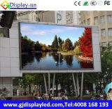 Visualizzazione di LED completa esterna del video a colori/fare pubblicità al TUFFO dello schermo P10