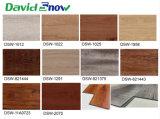 Efecto de madera natural impermeable de lujo de vinilo haga clic en el suelo