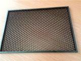 Kundenspezifische Größen-Schwarz-Farben-Aluminiumbienenwabe-Luftschlitze