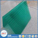 Hoja transparente del policarbonato del departamento de planta del taller de la fábrica de la azotea de la ventana