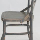 결혼식과 사건을%s 단단한 나무 Crossback 회색 의자