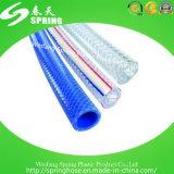 Da fibra desobstruída plástica da água do PVC mangueira trançada da tubulação do jardim