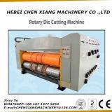 Máquina que corta con tintas rotatoria de la cartulina completamente automática