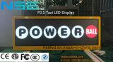 Visualizzazione di LED superiore del tassì P2.5 esterno P5 con la prestazione 3D
