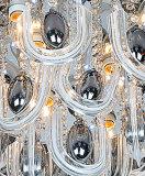 Luzes de teto de vidro à moda