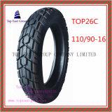 Schlauchlose, lange Lebensdauer, Superqualitätsmotorrad-Reifen mit 110/90-16