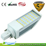 Reemplazo de Bulbo LED 2 Pines 9W con SMD 2835 G24 Plug Light