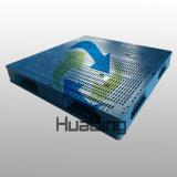 De Dubbele Plastic Pallet van het Dek van het Netwerk van het Gezicht 1100*1100 Hotsale