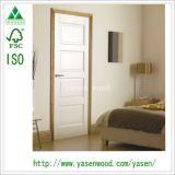 Нутряной дверь воспламененная белизной составная деревянная