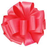 Atacado Fita de cetim colorido para embalagem de presente