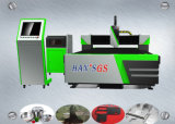 машина резца лазера маршрутизатора CNC волокна 500W для металлического листа