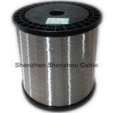 Fil en aluminium plaqué d'en cuivre de fil de Ccaw CCA de fil d'alliage de cuivre