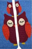فاخرة تصميم بومة قاعدة عمود ثوب ركبة طفلة ثوب جورب