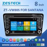 Навигация GPS автомобиля Zestech для VW Santana Bora