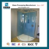 샤워실을%s 형식 디자인 다채로운 그려진 유리벽