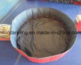 Piscina plegable del baño del perrito del PVC