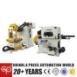 Redresseur de feuille de bobine et utilisation d'Uncoiler dans la machine de presse (MAC3-400)