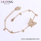 Mariposa Gold-Plated elegante de la joyería 75049 18K con la pulsera de piedra de las mujeres