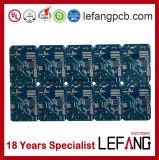 OEM bleu de carte à circuit imprimé de carte de Soldermask, ODM