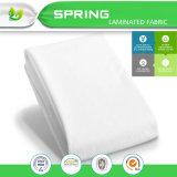 Protezione impermeabile Hypoallergenic del materasso di colore bianco classico