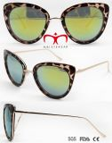 Óculos de sol novos da boa qualidade dos óculos de sol do olho de gato da forma (WSP705862)